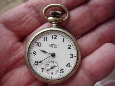 "A lovely fully working Ingersoll ""Midget"" Pocket Watch."