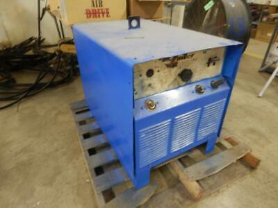 Miller Srh-333 230460v 5829a 15kw 60hz 3ph Arc Welding Machine