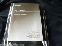 Yamaha Rx-v1600 Owner's Manual Operating Instruction - yamaha - ebay.it