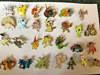 Official Pokemon Pins - Metal - Choose from 27 Characters - Charizard, Pikachu - Pokemon Characters Charizard