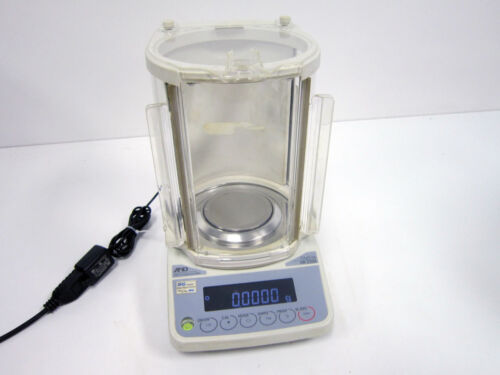 A&D COMPANY HR-250A ANALYTICAL LAB SCALE 252G WEIGHING