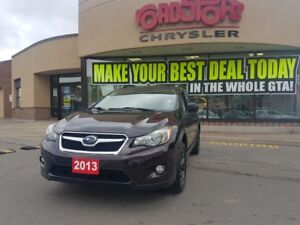 2013 Subaru XV Crosstrek BLACK WHEELS, AWD B-TOOTH H-TED SEATS P