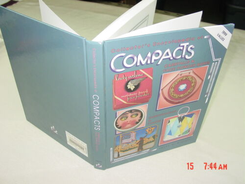 Vintage Out of Print Hardcover Book Collector Encyclopedia of Compacts Mueller