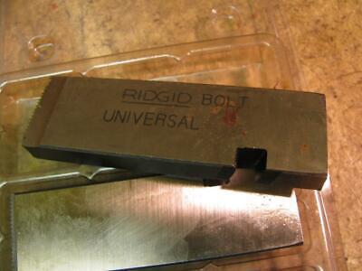 Ridgid 1-34-5 Unc Universal Bolt Die Set 811 815 Head 300 535 Pipe Threader