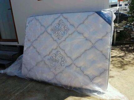 Wanted: Brand new queen size pocket spring pillow top mattress
