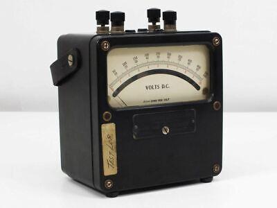 Weston Electrical 430 Vintage Dc Voltmeter Meter 0500 Volt