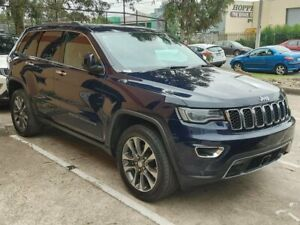 2018 Jeep Grand Cherokee WK MY18 Limited Blue 8 Speed Sports Automatic Wagon Hoppers Crossing Wyndham Area Preview