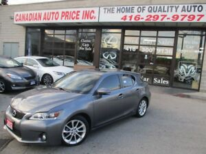 2012 Lexus CT 200h PRM-PKG-ONE-OWNER-CLEAN