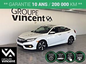 2017 Honda Civic TOURING**LIQUIDATION**GPS /CUIR/ TOIT OUVRANT**