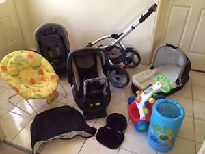 BABY STARTER PACK!!!  Stroller, Capsule, Bouncinette, Walker etc Brisbane City Brisbane North West Preview