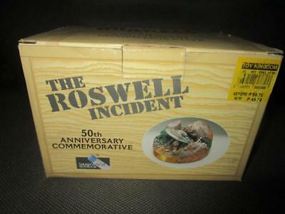 rare 1997 SHADOWBOX ROSWELL 50TH ANNIVERSARY COMMEMORATIVE MIB