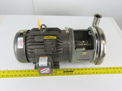 Tri-clover 218me18t-s 3 X 1-14 Stainless Steel Centrifugal Pump 3hp 3ph