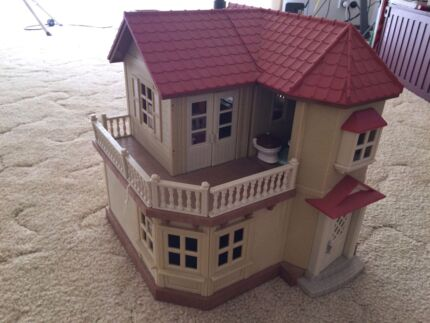 Sylvanian families-house+accessories Templestowe Manningham Area Preview