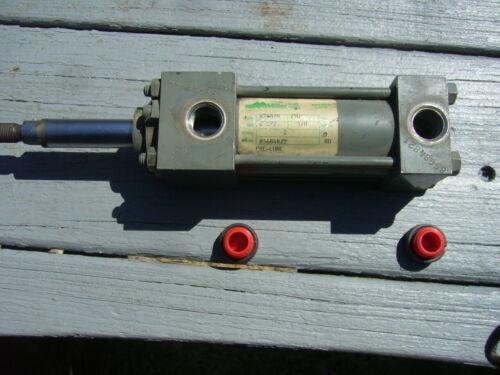 "Hydraulic Cylinder 1 1/2"" Bore 5/8"" Rod Diam.and 2"" Stroke 3/8 NPT Ports Miller"