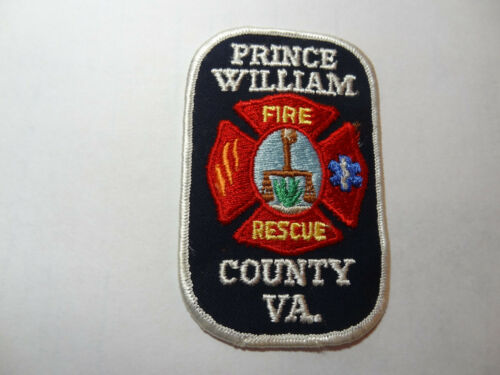 PRINCE WILLIAM COUNTY VIRGINIA FIRE RESCUE PATCH.