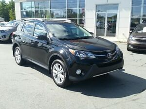 2013 Toyota RAV4 Limited Navi, Terra Cotta Leather, Pwr Liftgate