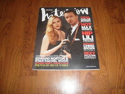 Vintage Evan Rachel Wood Interview Magazine 2006