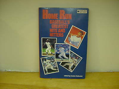 AWESOME Book, HOME RUN Baseballs Best Hitters, Babe Ruth, Hank Aaron,