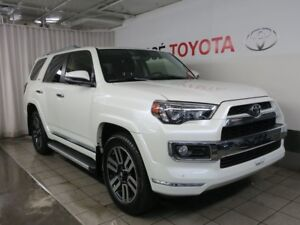2017 Toyota 4Runner Limited 7 Passagers + Pneus d'hiver