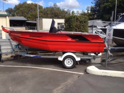 2015 Stabicraft 1600 Frontier Centre Console + Yamaha 60hp 4-Strk Boondall Brisbane North East Preview