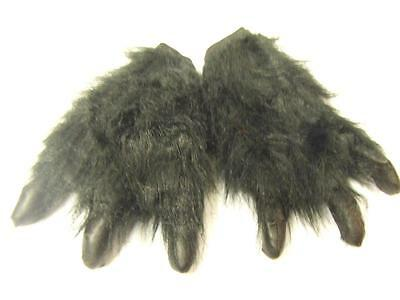 Monster Paws with Claws  Black Hands  Werewolf  one size Halloween dog wolf bear