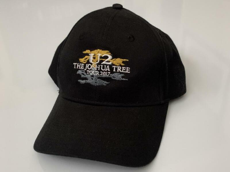 U2 The Joshua Tree Embroidered Concert Tour Hat 2017 NEW! One Size Fits All Bono