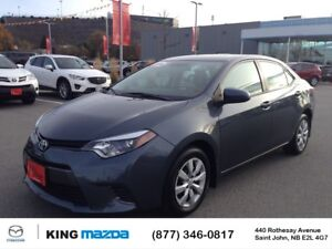 2015 Toyota Corolla LE LOW KMS..NEW ALL SEASONS..WINTER TIRES TR