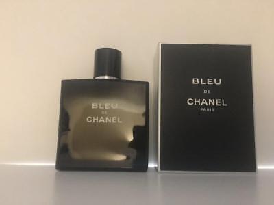 Bleu De Chanel 3.4 oz / 100 mL EDT Pour Homme Spray Mens Cologne Brand New