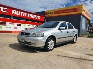 2002 Holden Astra TS City Silver 5 Speed Manual Sedan Morphett Vale Morphett Vale Area Preview