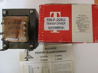 Triad Rectifier Power Transformer F-205u Sec 12 To 29.5 Vac 12 Or 6 Amp Dc 117