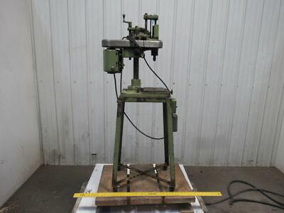 Hamilton Bench Top Micro Drill Press Wstand 2500 Rpm 0-18 Chuck 115v