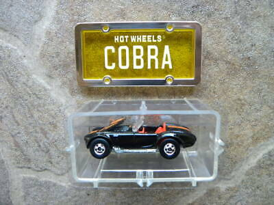 CLASSIC SHELBY COBRA            1988 HOT WHEELS PARK 'N PLATES   1:64 DIE-CAST