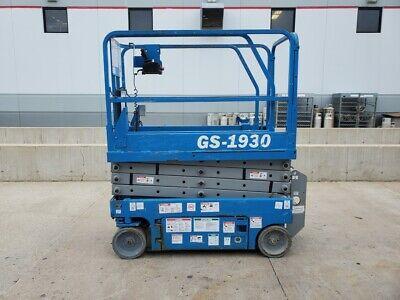 2007 Genie Gs-1930 Electric Scissor Lift Slab Man Lift Compact Jlg Skyjack