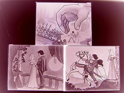 Gullivers Travels Animation 3 NEGATIVE LOT 263G