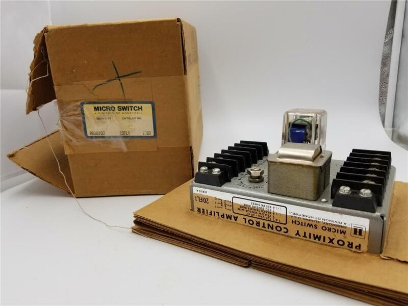 Micro Switch 20FL1 Honeywell Proximity Control Amplifier