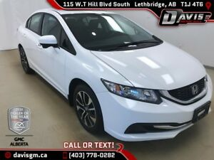 2015 Honda Civic EX SUNROOF, HEATED SEATS, BACK UP CAMERA