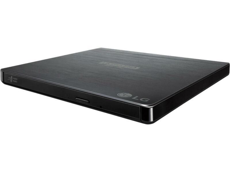 LG 6x External Blu-ray Disc Double-Layer DVDRW/CD-RW Drive Black BP60NB10