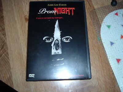 Happy Halloween Horror Movie (Prom Night Anchor Bay DVD Jamie Lee Curtis Leslie Nielsen HORROR HAPPY)