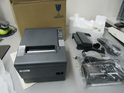 Epson Tm-t88iv Pos Usb Receipt Label Printer M129m Dark Gray