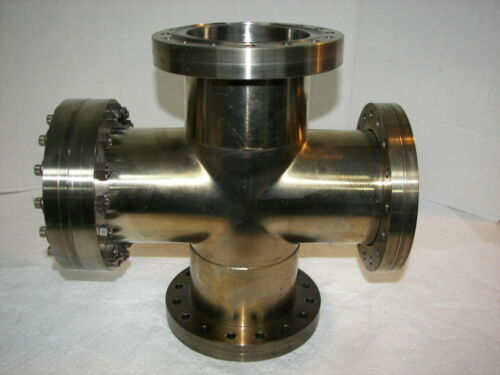 "Huntington 4-Way High Vacuum Research Chamber 6"" Flange Reducer"