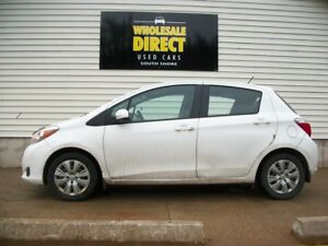 2014 Toyota Yaris LATE MODEL HATCHBACK with AIR, CRUISE & POWER