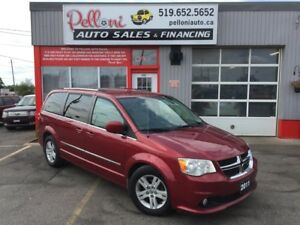 2011 Dodge Grand Caravan CREW|STOW N' GO|REAR A/C|ONE OWNER