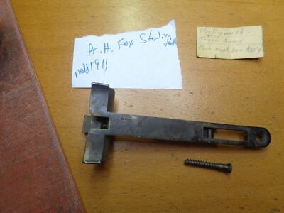 A.H. Fox Sterlingworth Forend Forearm Hardware Bracket With Screw Model 11911