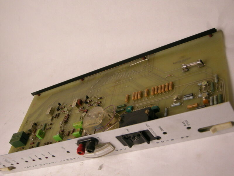 CINCINNATI MILACRON INPUT OUTPUT BOARD GAUGE FROM CNC MILLING MACHINE