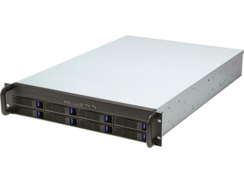 NORCO RPC-2008 2U Rackmount Server Case Chassis 8 x SAS/SATA Hot-Swap Drive -New