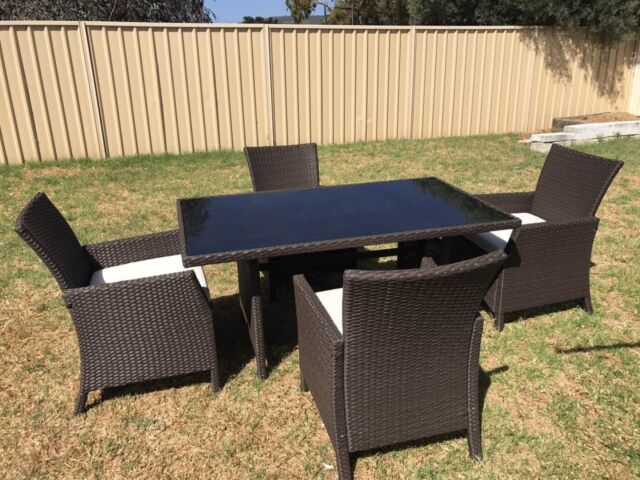 Outdoor Furniture Outdoor Setting Outdoor Dining Set 5 Pieces Outdoor Dinin
