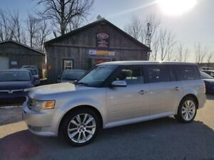 2010 Ford Flex Limited, Leather, Pano Roof, 7 Pass, CERTIFIED!