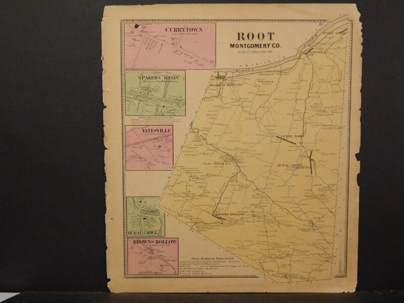 New York, Montgomery County Map, 1868, Root Township !J3#04