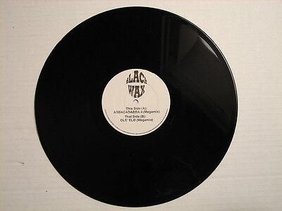 "RARE BLACK WAX RECORDS ABBA & OLE ELO (MEGAMIX) 12"" ELECTRIC LIGHT ORCHESTRA"