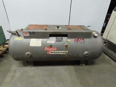 Speedaire 120 Gallon Compressed Air Storage Tank From 3z412 Compressor
